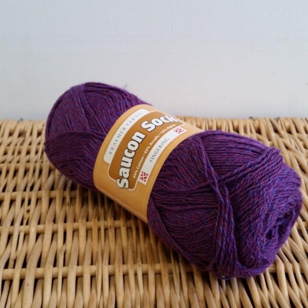 Saucon Sock Purple