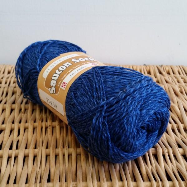 Saucon Sock Electric Blue
