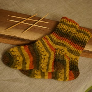 Completed Socks